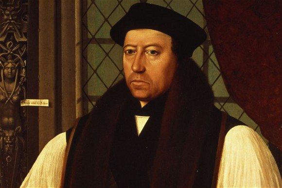 Thomas Cramner wrote and compiled the first two editions of the Book of Common Prayer, a complete liturgy for the English Church. With the assistance of several Continental reformers to whom he gave refuge, he changed doctrine in areas such as the Eucharist, clerical celibacy, the role of images in places of worship, and the veneration of saints. Cranmer promulgated the new doctrines through the Prayer Book, the Homilies and other publications.