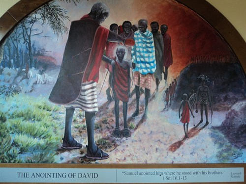 The Annointing Of David