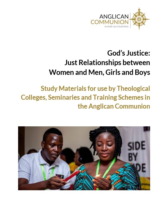 God's Justice: Just relationships between women and men, girls and boys