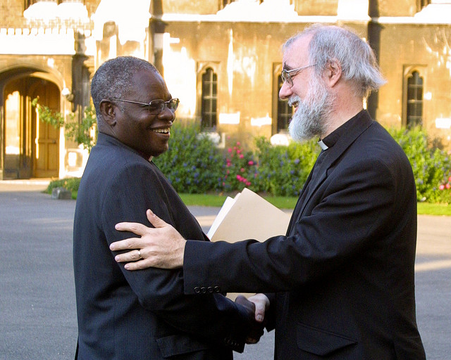 Archbishop Peter Akinola and Archbishop of Canterbury